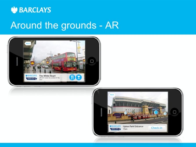 Barclays Premier League Mobile Applicaiton