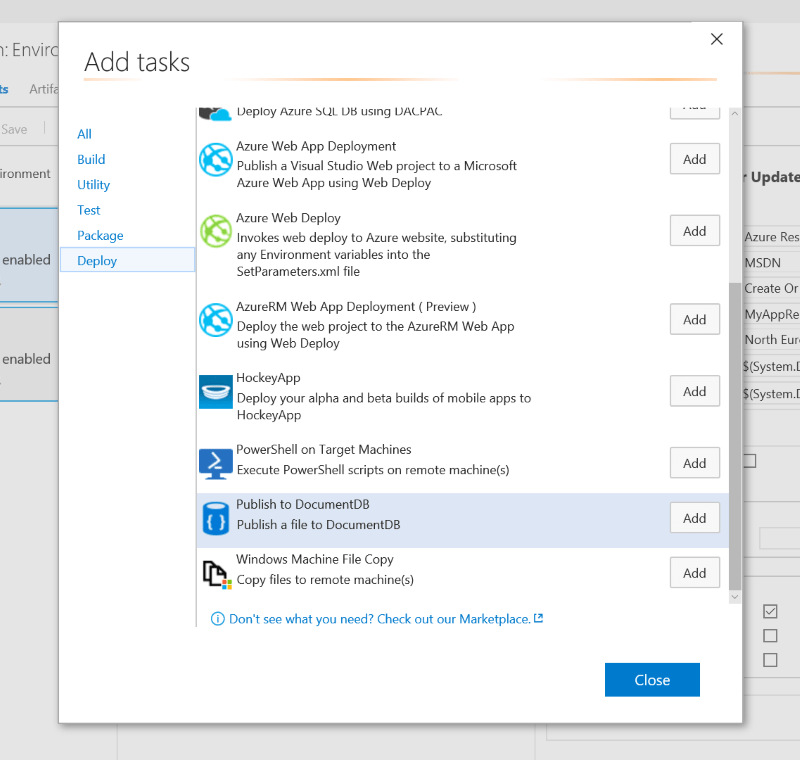 Visual Studio Team System (VSTS)–Build and Release task