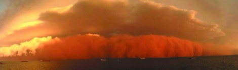 Red Australian Skies Produce Vast Ocean Abundance