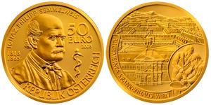 50_EURO_Gold_Coin_-_Ignaz_Philipp_Semmelweis_-_Austria