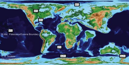 Paleocene Eocene Earth