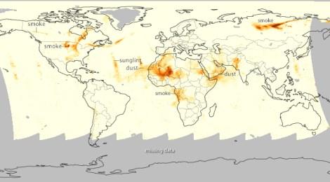 Global Dust July 2014