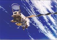 Aqua satellite measures blue skies