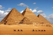 Pyramids made of large blocks endure for millenia