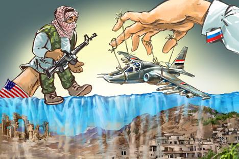 Afbeeldingsresultaat voor war in Syria by the US