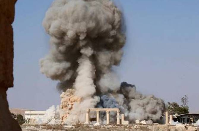 ISIS blows up ancient tomb in Palmyra