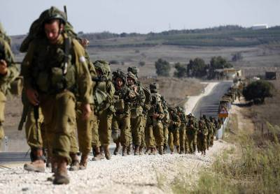 The Israeli military claims the drills were planned in advance