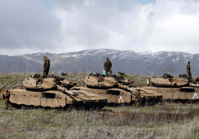 Israel: Gobbling up more Syrian land