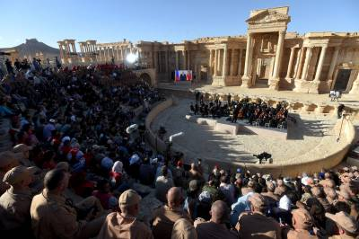 Civilization returns to Palmyra