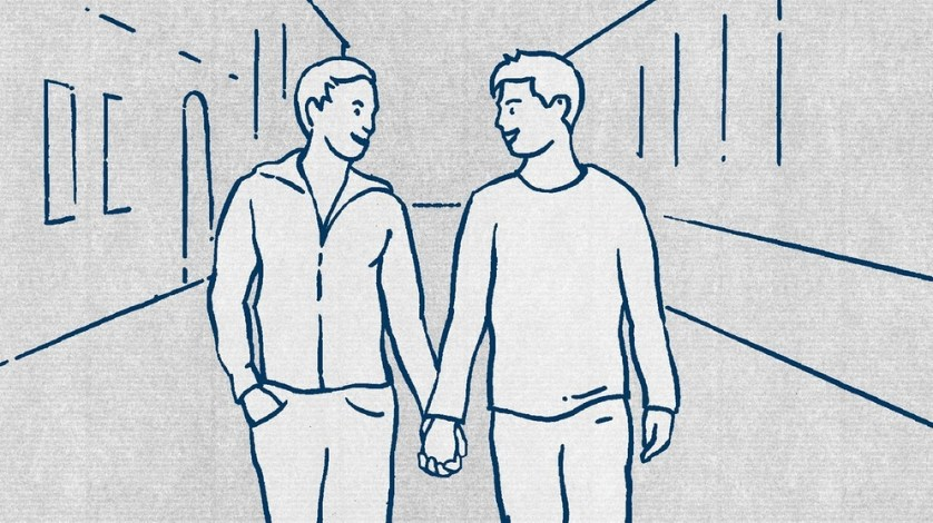 Гомосексуализм В Германии гомосексуалисты имеют право показывать свои сексуальные предпочтения на публике.