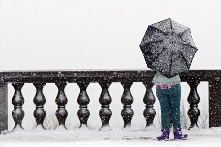 RUSSIA SNOWFALL