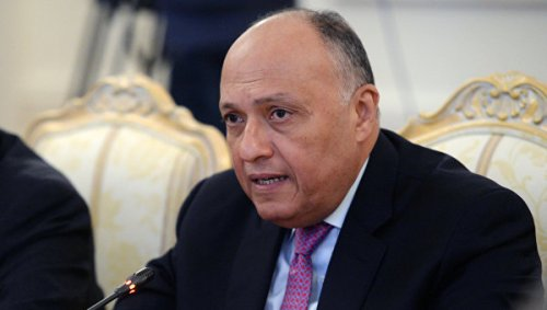 МИД Египта Самех Шукри