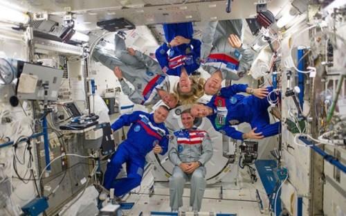 Экипаж 37-й экспедиции на МКС