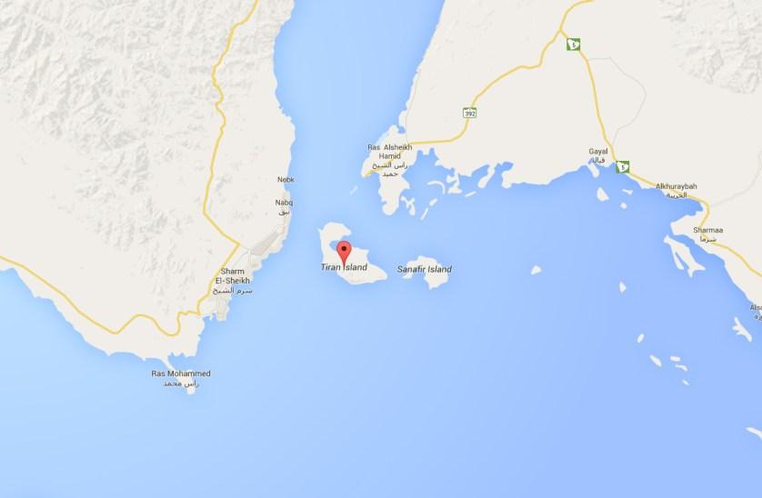 Tiran+Sanafir+islands