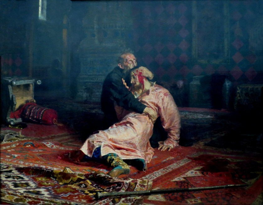 Ilya Repin. Ivan the Terrible and His Son.