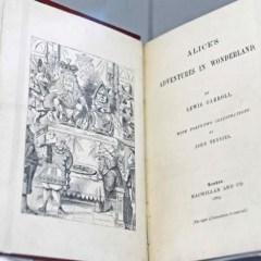 Книга из первого тиража «Алисы в стране чудес» выставлена на торги за $3 млн