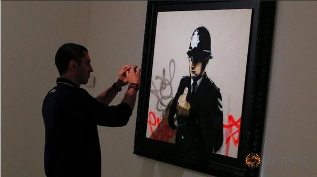 Bansky exhibition
