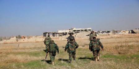 Бойцы сирийской армии в провинции Дейр-эз-Зор