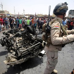 Six killed, 15 wounded in suicide bombing north of Baghdad