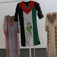 Palestinian embroidery from Birzeit to Lebanon