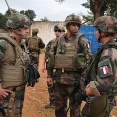 French troops will leave Central African Republic in October