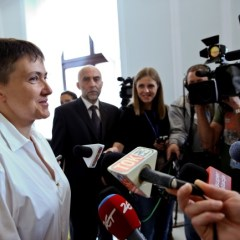 Savchenko in Poland: Thank you for your support