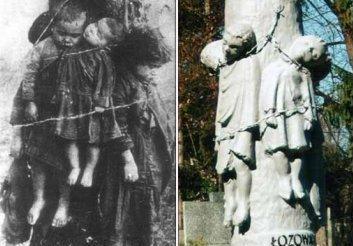 «Польский венок» — памятник жертвам Волынской резни в Польше