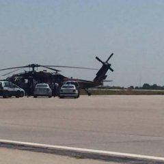 Turkish military helicopter lands in Greece, 8 request asylum