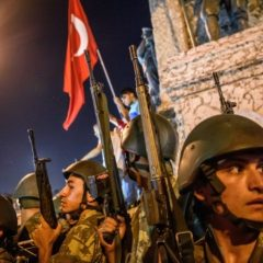 Turkish military kills 35 militants after they try to storm base