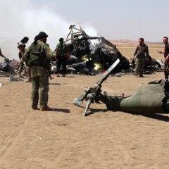 "Russian Mi-8 Crew Bodies Held by ""Jabhat Fatah al Sham"" Terrorist Group in Aleppo"