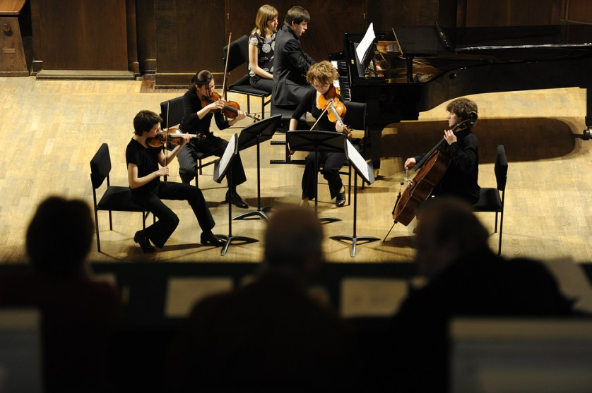 ITAR-TASS 09: MOSCOW, RUSSIA. MAY 17, 2010. Students of the Moscow Tchaikovsky Conservatory take an examination. (Photo ITAR-TASS / Alexei Filippov) 09. Ðîññèÿ. Ìîñêâà. 17 ìàÿ. Ñòóäåíòû Ìîñêîâñêîé ãîñóäàðñòâåííîé êîíñåðâàòîðèè èìåíè Ï.È. ×àéêîâñêîãî âî âðåìÿ ñäà÷è ýêçàìåíà â Ìàëîì êîíöåðòíîì çàëå. Ôîòî ÈÒÀÐ-ÒÀÑÑ/ Àëåêñåé Ôèëèïïîâ