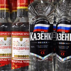 Almost 60 tonnes of vodka with fake excise stamps seized in Russia's Far East