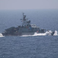 U.S. Officials: 7 Iranian Vessels Harass Navy Ship In Gulf