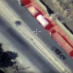 Militants on pickup with mortar use Aleppo aid convoy as cover, Russian MoD shows (VIDEO)