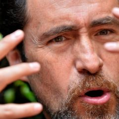 In quake film, Mexican actor Bichir sees broken politics
