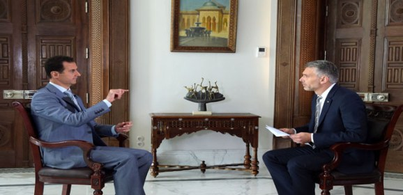 al-Assad: Fighting terrorists is the way to protect civilians in Aleppo