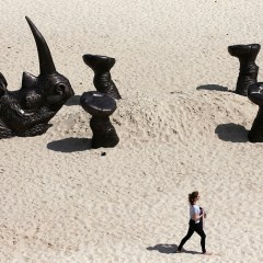 Sculpture by the Sea: contemporary art on the beach