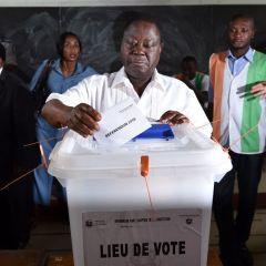 Scuffles as I.Coast votes on divisive constitution