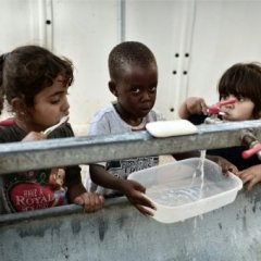On Greek islands, children of war hungry for school