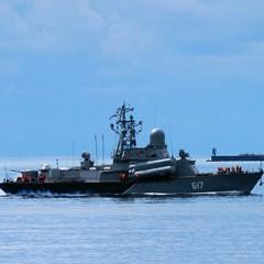 К берегам Сирии отправился третий ракетный корабль Черноморского флота