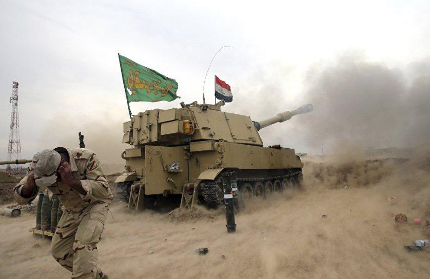 Правительственные силы Ирака освободили третью часть восточной половины Мосула, сообщил 15 ноября представитель МВД бригадный генерал Саад Маан.