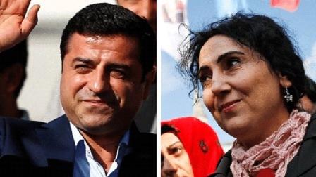 Селахаттин Демирташ и Фиген Юксетдаг. В Турции, кстати, может быть восстановлена смертная казнь.