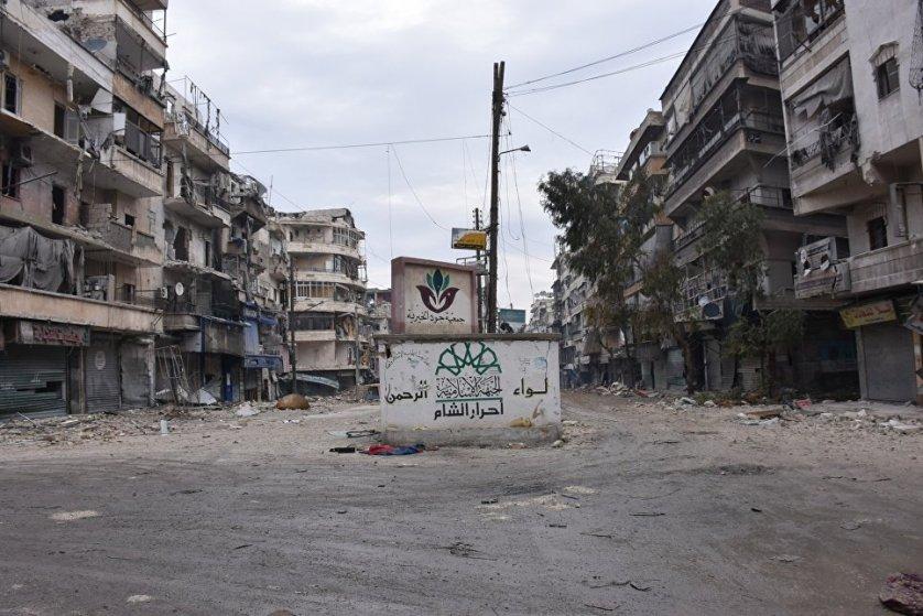 В последние освобожденные кварталы Алеппо по мере разминирования домов возвращаются мирные граждане.