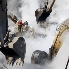 Стала известна причина обрушения высотки в Тегеране