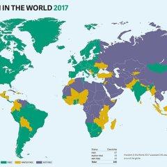 Freedom House уличила Россию в покушении на демократию в других странах