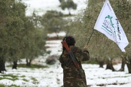 Боевик группировки «Ахрар аш-Шам»