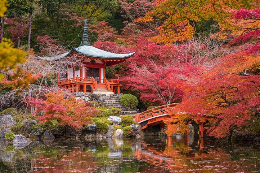 Киото, Япония.