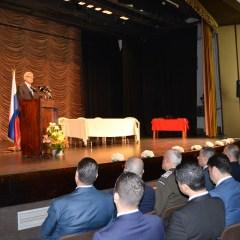 حفل تقديم شهادات وإفادات دراسية لطلاب اللغة الروسية من ضبّاط السلك العسكري والأمني