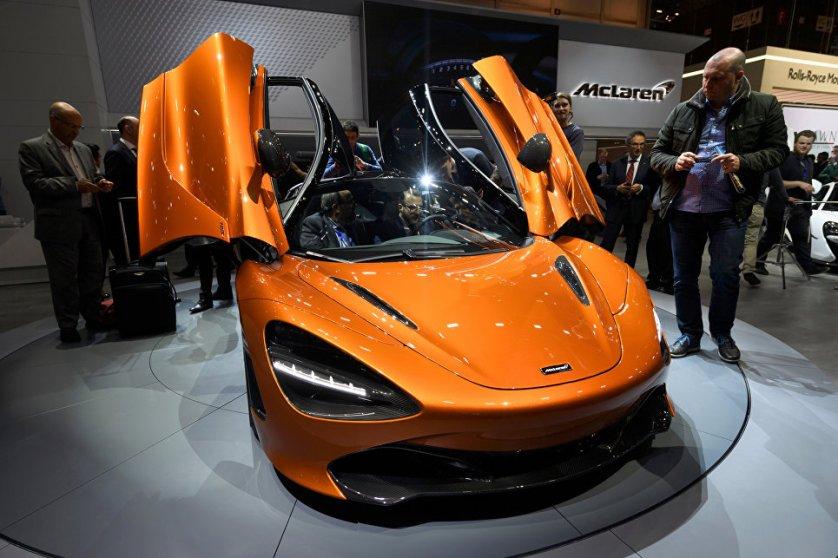 Автомобиль McLaren 720S - это второе поколение спортивных автомобилей серии Super. Он легче предшественника (модели 650S), но имеет вдвое улучшенные аэродинамические показатели.