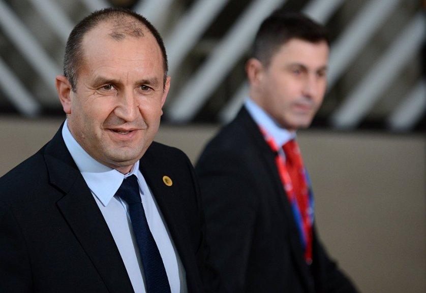 Президент Болгарии Румен Радев. 9 марта 2017 года